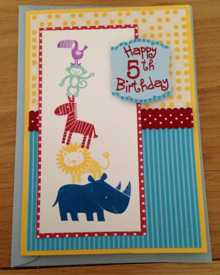 Zoo Babies from Stampin' Up!