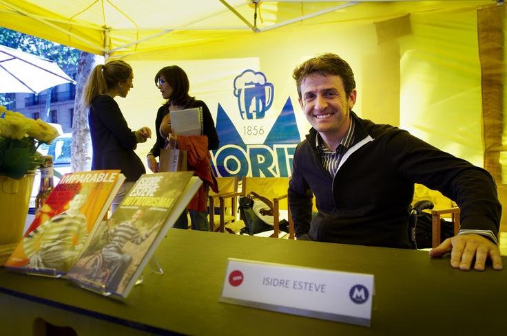 Isidre Esteve a la Fàbrica Moritz Barcelona.