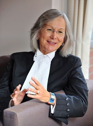 Marion Buller, the first indigenous woman appointed to British Columbia's Provincial Court