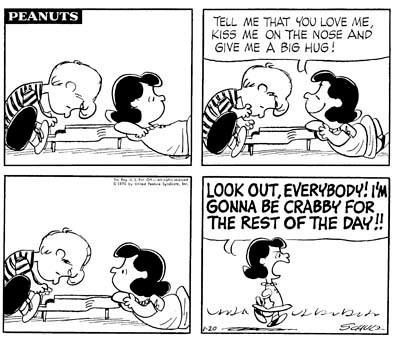 Lucy Schroeder Peanuts Snoopy Piano Jan 20, 1970