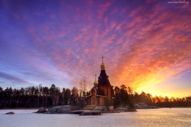 Cerkiew, Zachód Słońca