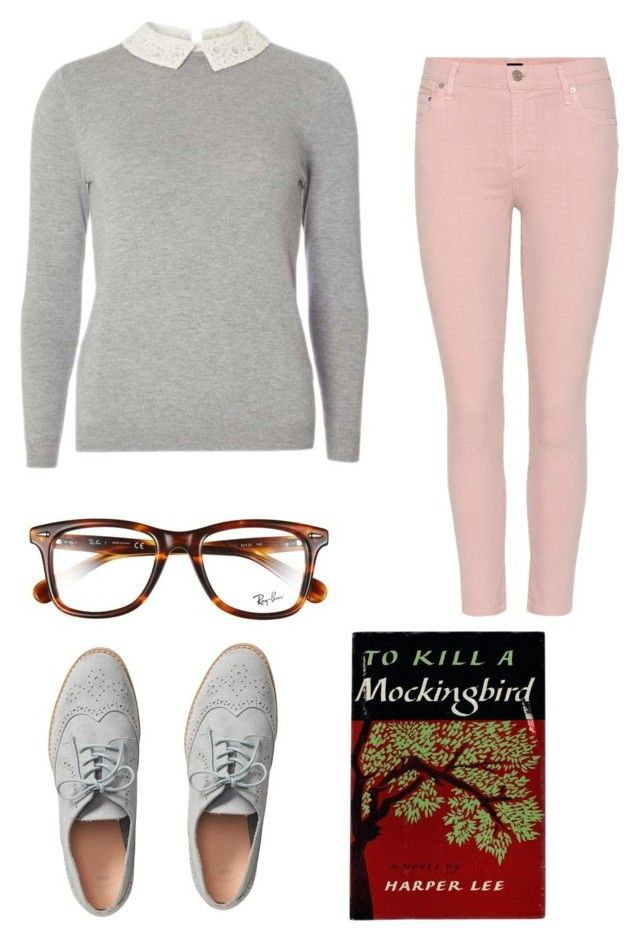 Spencer Hastings by gemmanewyorkcity on Polyvore featuring polyvore, fashion, style, Dorothy Perkins, Citizens of Humanity, Gap, Ray-Ban and clothing