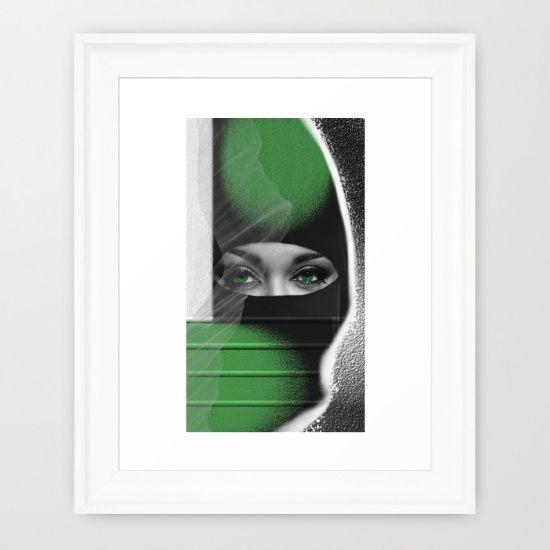 Just+Freedom+Framed+Art+Print+by+Müge+Başak+-+$35.00