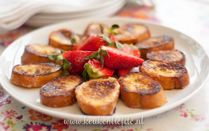 Koken op de camping: stokbrood wentelteefjes - Keuken♥Liefde