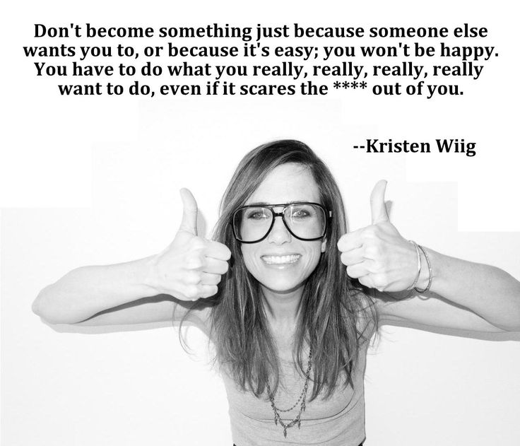 Kristen Wiig definitely knows how to go about living life, even if it initially seems overwhelming...