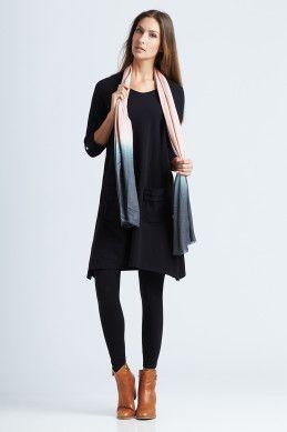 bird keepers The Black Swing Dress - Womens Knee Length Dresses at Birdsnest Women's Fashion