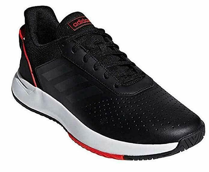Adidas Courtsmash Shoe Men S Tennis Black Or White Choose Size Adidas Men Black Shoes Tennis Shoes