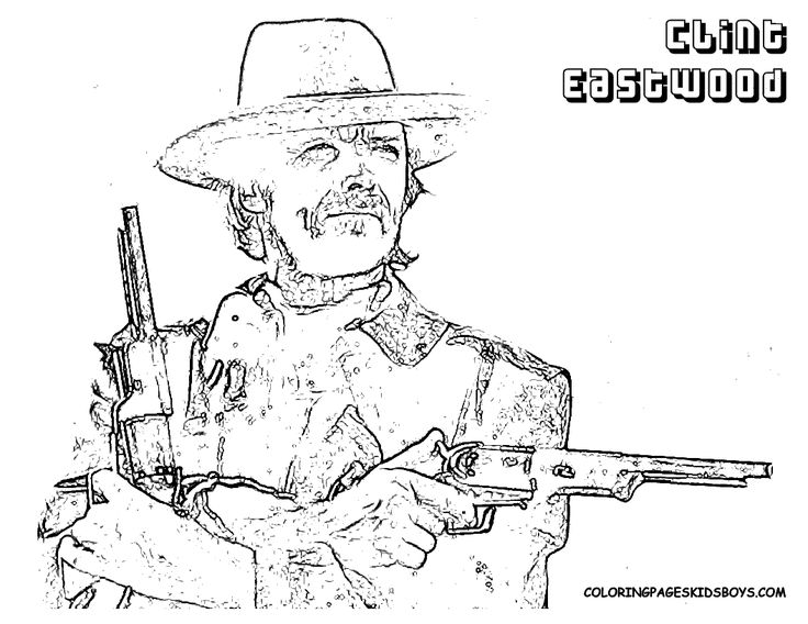 10 Best Cool Cowboy Coloring Pages Images On Pinterest Cowboys Cowboys Coloring Pages