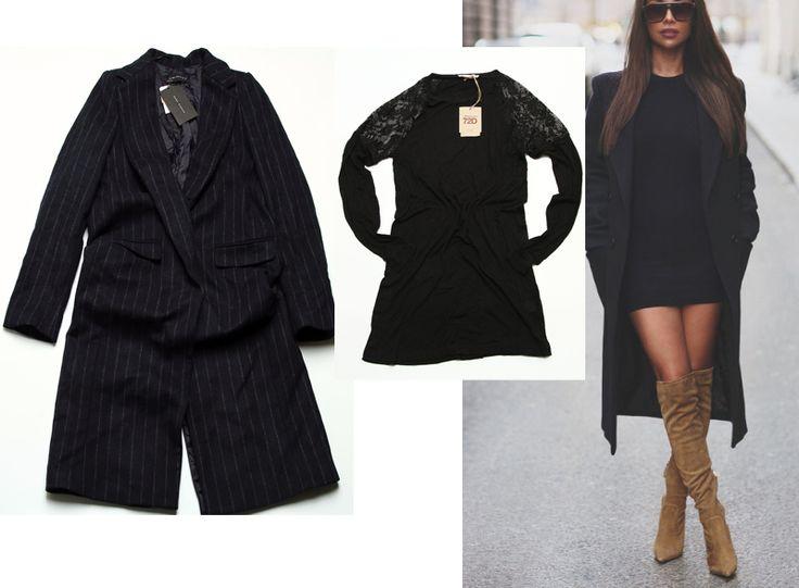 Palton Zara, Rochie OVS