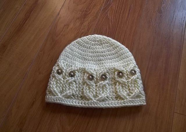 Owl Hat Crochet Pattern. Love!