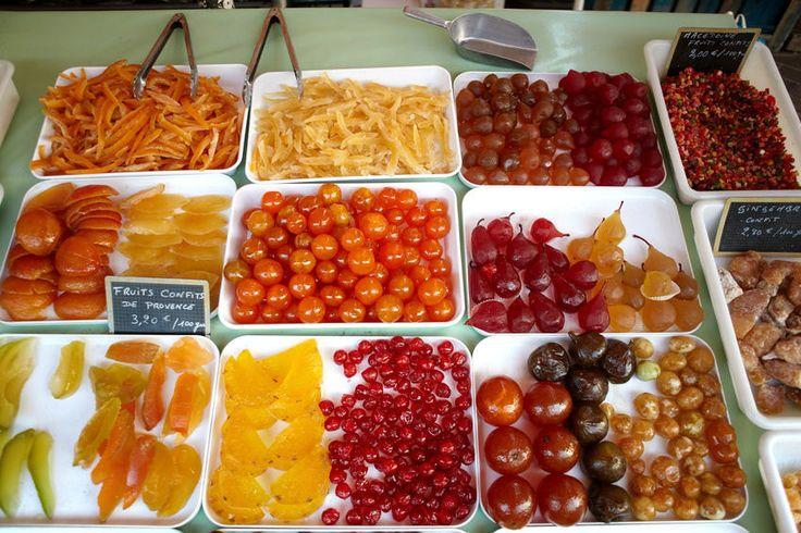 Kandierte Früchte, Kanditen, Dickzuckerfrüchte: Definition, Warenkunde, Lebensmittelkunde