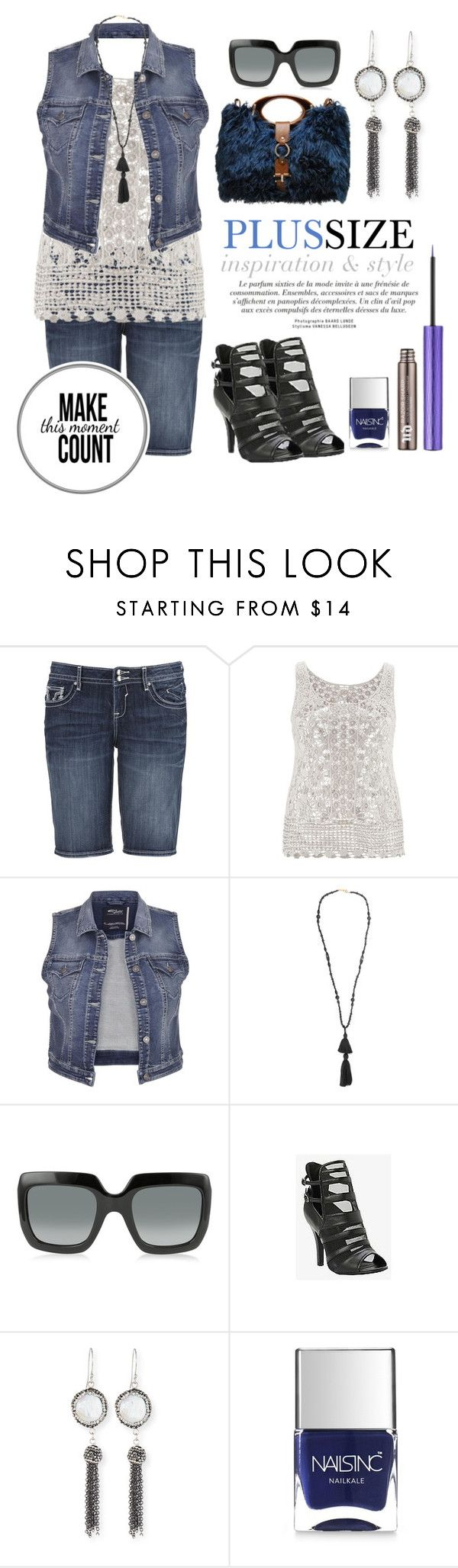 """Plus Size Amazing"" by kimberlyn303 on Polyvore featuring maurices, Isabel Marant, Gucci, Marni, Torrid, Elise M., Nails Inc. and Urban Decay"
