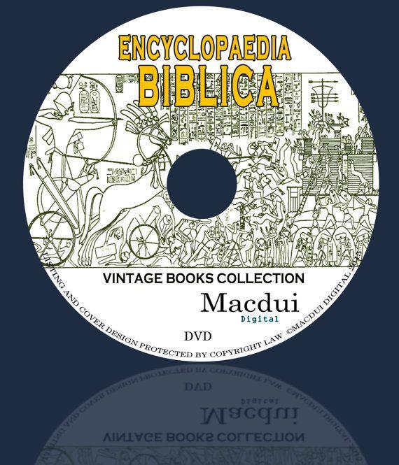Encyclopaedia Biblica: A Critical Dictionary of by MacduiDigital