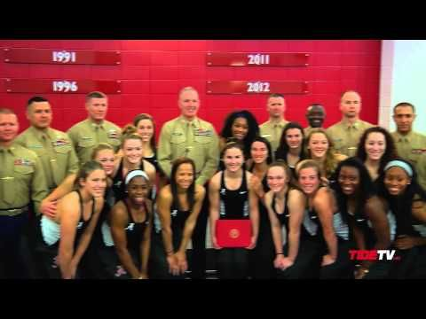 From balance beam to Marine officer, the career of Alabama's most inspiring athlete is coming to an end