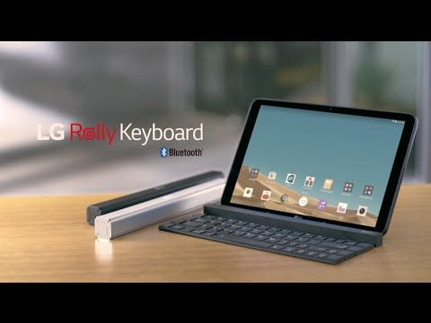 LG's new 'Rolly' wireless keyboard turns into a pocket stick | The Verge