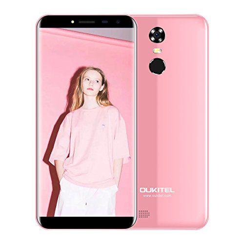 OUKITEL C8 - Android 7.0 Smartphone ohne Vertrag 5.5 Zoll HD 2.5D Arc Bildschirm 2GB RAM 16GB ROM 5MP+13MP Dual Kamera 3000mAh MT6580A 1.3GHz Quad Core 0.1s Fingerabdruck 3G Phablet - Rosa #OUKITEL #Android #Smartphone #ohne #Vertrag #Zoll #Bildschirm #MP+MP #Dual #Kamera #.GHz #Quad #Core #Fingerabdruck #Phablet #Rosa