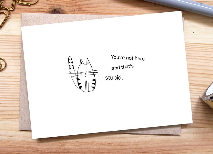 Tarjeta de te extraño, extraño su tarjeta cara, pensando en usted, larga distancia relación tarjeta, Miss You Don, de regalo, tarjeta de gato de OkSillyInk en Etsy https://www.etsy.com/es/listing/458263004/tarjeta-de-te-extrano-extrano-su-tarjeta