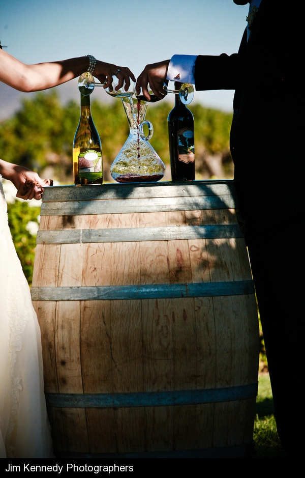 Wine Ceremony On A Barrel Love This Especially Since We Re Getting Married
