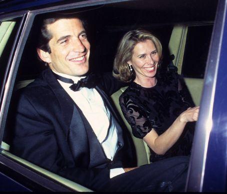 John Kennedy with Carole Radziwill