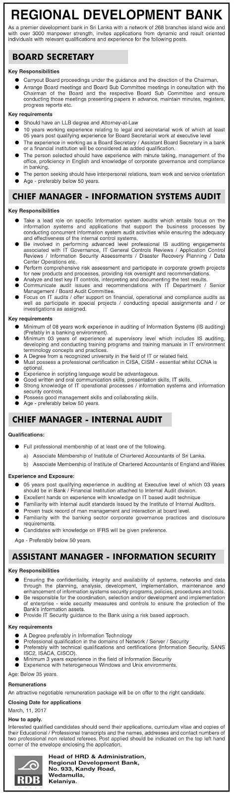 Sri Lankan Government Job Vacancies at National Insurance Trust Fund Board for Insurance Officer (Legal)