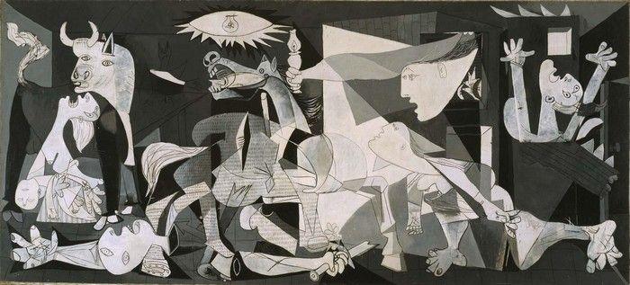 Экскурсии в Музей Королевы Софии - Главная Картина Музея Софии Герника Gernica Пабло Пикассо Pablo Ruiz Picasso