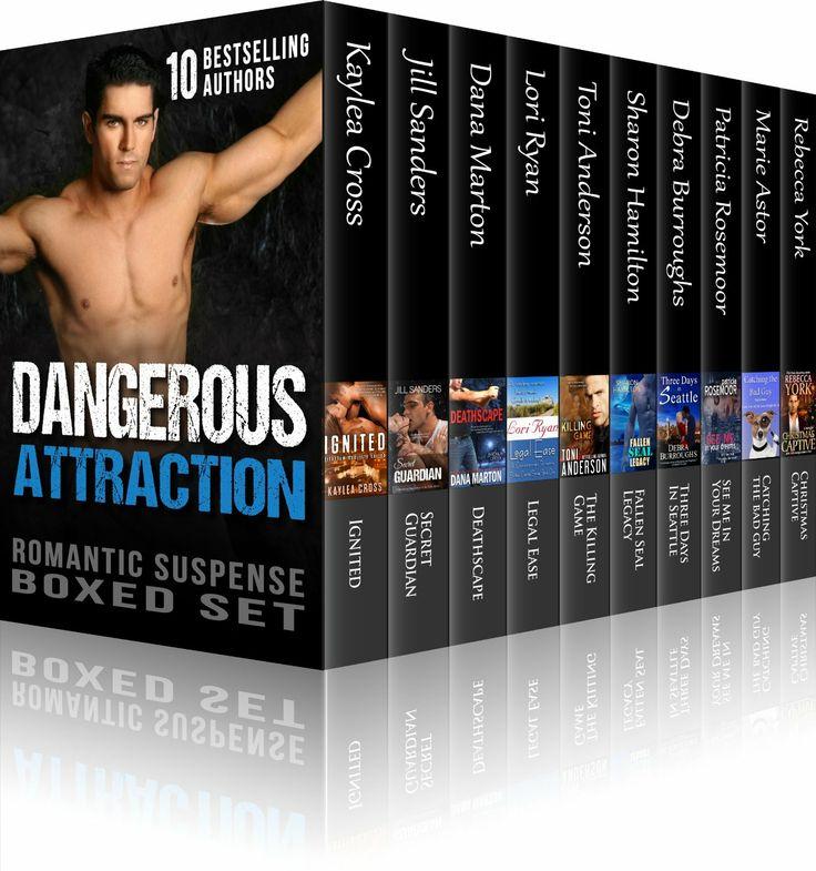 Amazon.com: Dangerous Attraction Romantic Suspense Boxed Set (9 Novels from Bestselling Authors, plus Bonus Christmas Novella from NY Times ...