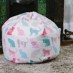 Cats Lovers Bean Bags (Felix Aqua) - Jolly & Bea's Dog & Cat Accessories