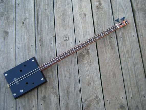 2 string cigar box bass guitar 2