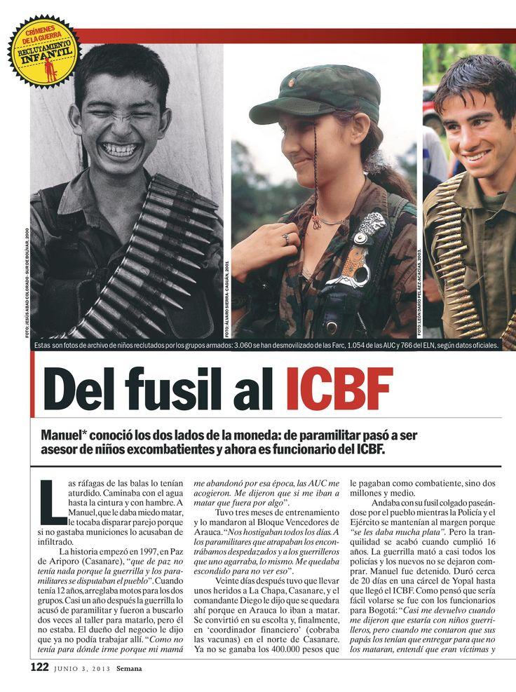Del fusil al ICBF, parte 1. Especial de Víctimas, 2013.