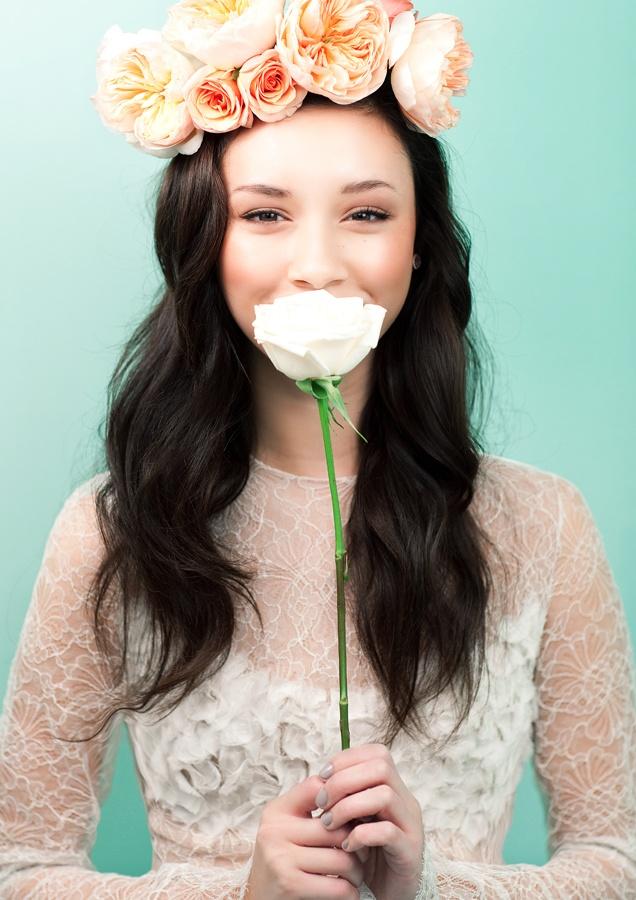 floral headband - love it