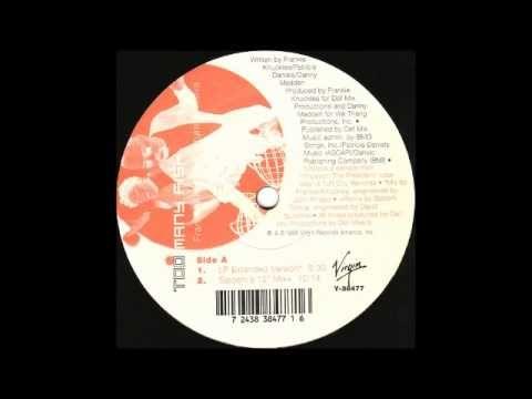 """FRANKIE KNUCKLES Featuring ADEVA - """"Too Many Fish"""" (Satoshi's 12'' Mix, 1995)"""