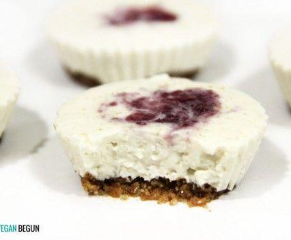 vegan cheesecake // tarta de queso vegana