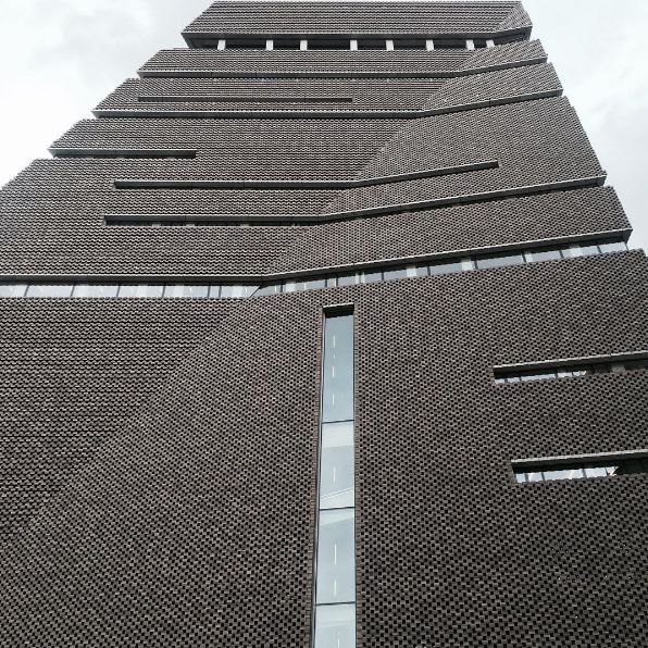 Opening of the #Switchhouse at the @tate modern this morning. A project by @herzogdemeuron
