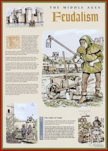 an overview of the feudal system in the medieval period Feudalism was a combination of legal and military customs in medieval europe  that flourished between the 9th and 15th centuries broadly defined, it was a way  of structuring society around relationships  of as a formal political system by the  people living in the middle ages  classic introduction to feudalism.