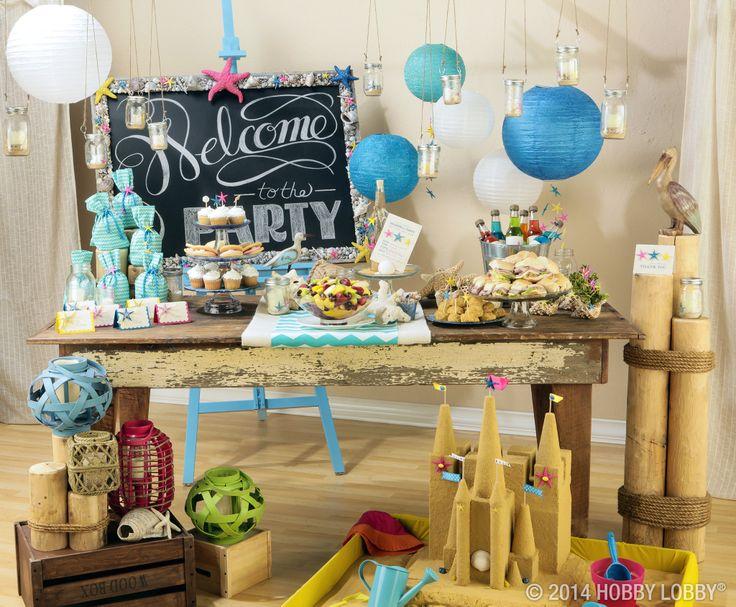 Beach Themed Party Ideas Party Ideas Pinterest