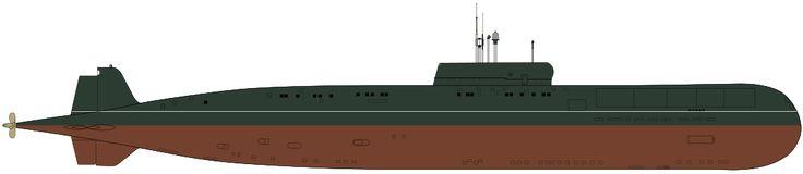 Papa class SSGN - Soviet submarine K-222 - Wikipedia