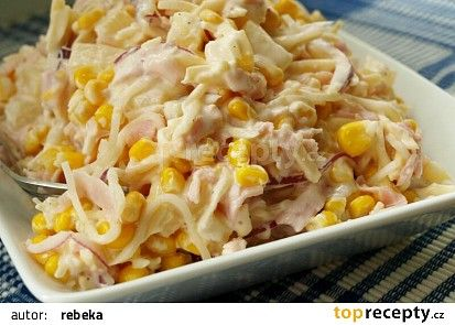 Celerový salát recept - TopRecepty.cz