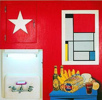 Still Life, 1960. Tom Wesselmann (1931-2004) was an American artist associated with the Pop art movement who worked in painting, collage and sculpture