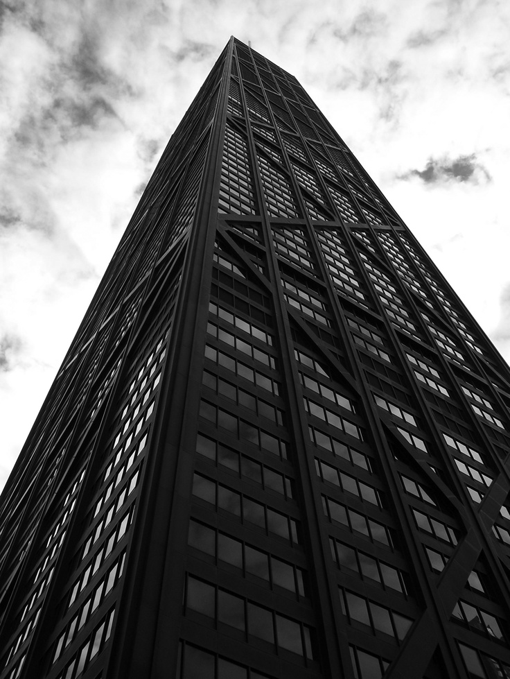 The John Hancock Center was completed in 1969 as the tallest building in Chicago, the fist ever multi-use high rise over 1,000 feet, and the tallest residential building in the world. It has been surpassed several times over, and is only the 4th tallest building in Chicago today, but it is one of the most iconic buildings in the city, most notably due to it's exterior steel support beams criss-crossing their way up to 1,127 feet up. They have an amazing observation deck on the 94th floor.