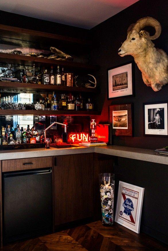 Man Cave Bars Melbourne : Best farben räume on the dark side images