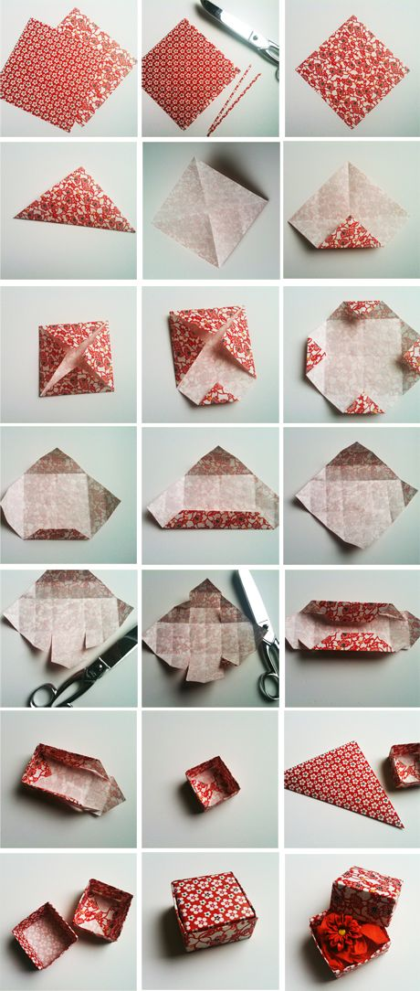 Tutorial: Folded paper box