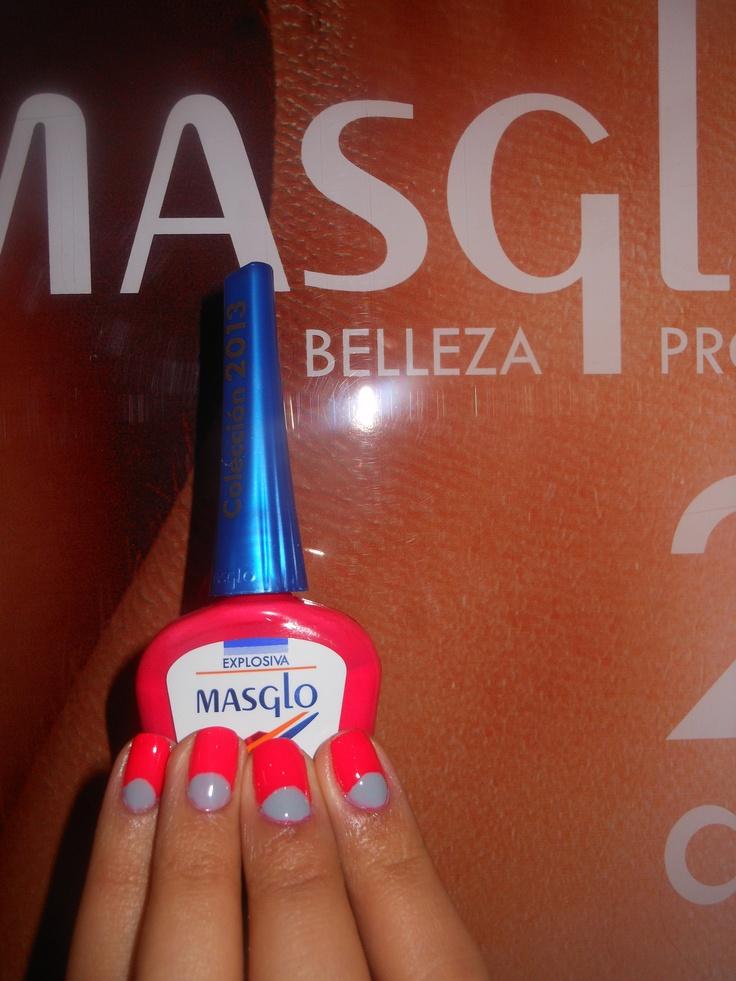 Explosiva y Famosa con Masglo. Masglo Nails