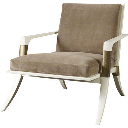 Baker Furniture : Athens Lounge Chair - 6134C : Thomas Pheasant : Browse Products
