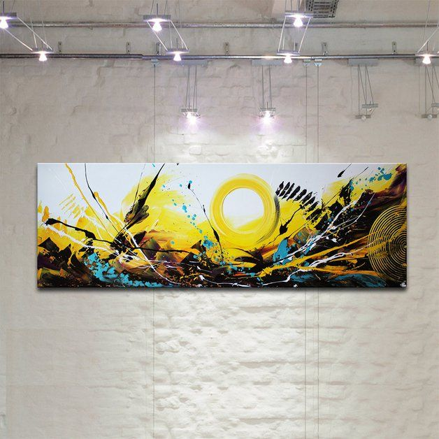 Schilderijen KUNST beeld UNIEKE decoratieve CANVAS handgeschilderd FRAME acryl