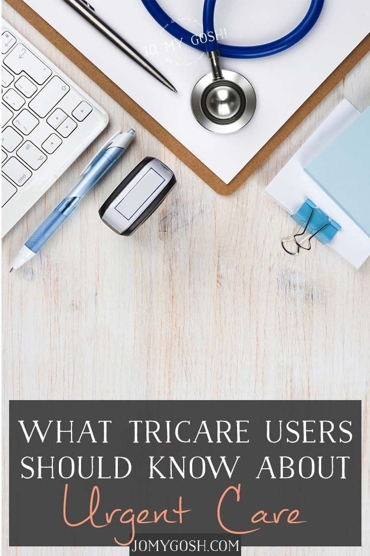 What Tricare Users Should Know About Urgent Care Urgent Care