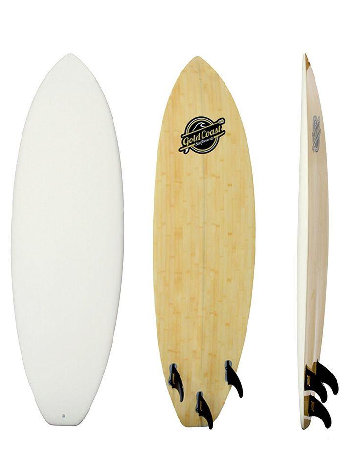 Amazon.com : 6' Razzo Pro Series Surfboard Hybrid High Performance Foam Surfboard by Gold Coast Surfboards : Sports & Outdoors