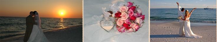 Tropical Beach Weddings- Beach Weddings Florida- Beach Weddings- Destin Beach Weddings- Navarre Beach Weddings