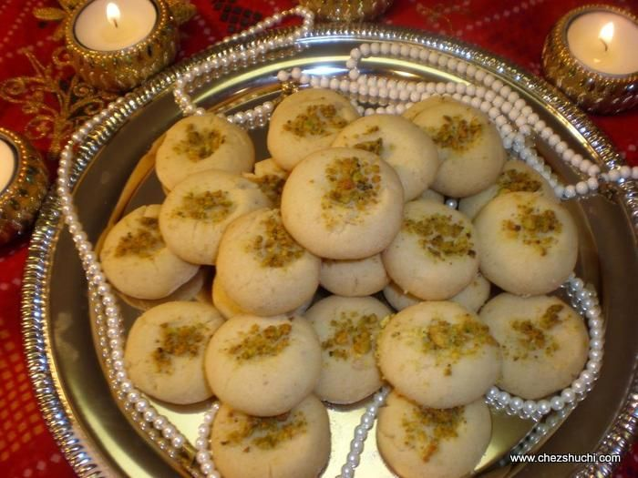 Naankhati- Indian version of butter cookies!! Easy to follow recipe of delicious and aromatic cookies, naankhati.