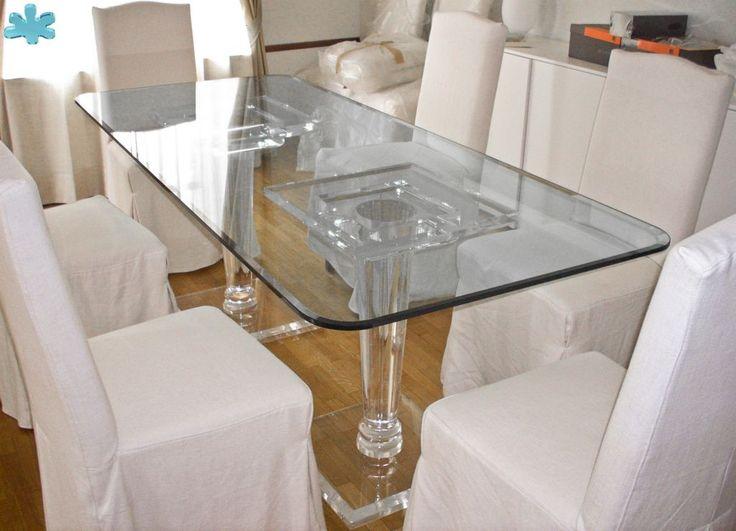 Tavolo trasparente ~ 45 best acrylic dining tables tavoli da pranzo plexiglass images