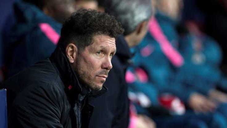 """Simeone: """"Se busca polemizar mis palabras y eso no nos interesa; Torres y yo queremos al Atlético"""": Diego Pablo Simeone, entrenador del…"""